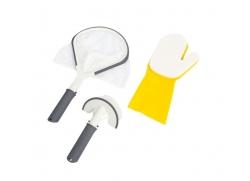 Lay-z Universal rengøringssæt (net, skrubbe, handske)