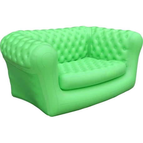 Z-Flates Oppustelig sofa - grøn