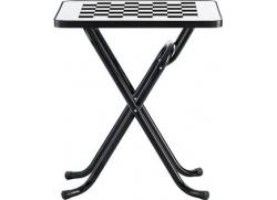 Play skak bord - hvid/sort