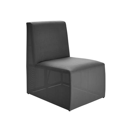 Loggia Loungemodul Stol - antrazit grå