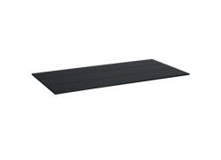 Solist Bord plade - antrazit grå