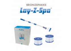 Bronzepakke til Lay-Z spa