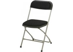 Event klapstol med polster - Grå