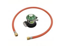Gasregulator inklusiv sikkerhedsmanometer