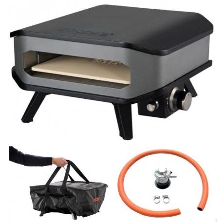 Cozze pizzaovn med bæretaske og regulator